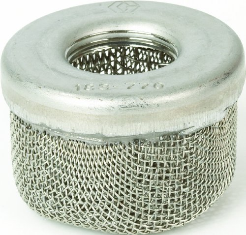 Graco 181072 1-Inch NPSM Inlet Strainer Screen for Airless Paint Spray...