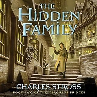 The Hidden Family audiobook cover art