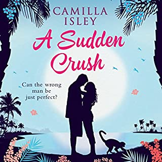 A Sudden Crush audiobook cover art