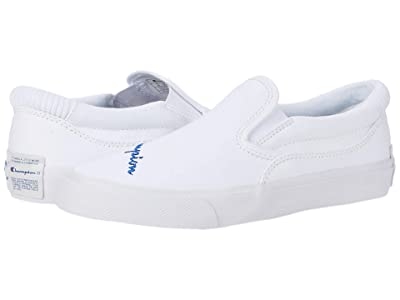 Champion Kids Fringe Slip-On (Big Kid) (White) Kid