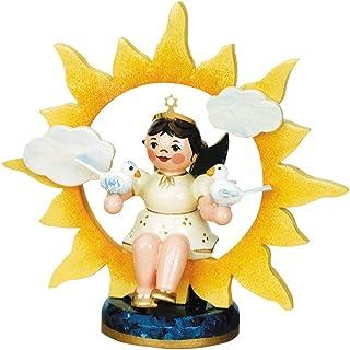 Hubrig Volkskunst Angel with Sun and Doves