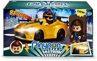 Pinypon Action Multicolore 700014495 Famosa V/éhicule de Police