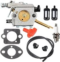 Panari WT-45 Carburetor + Fuel Line Filter Spark Plug for STIHL FS48 FS52 FS62 FS66 FS81 FS86 FS88 String Trimmer