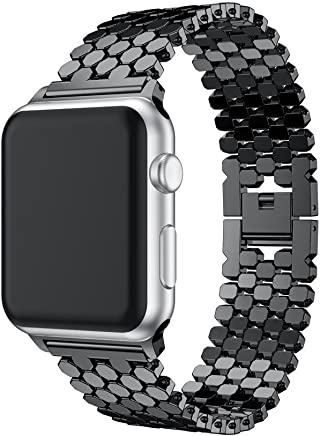 Smart Watch Strap New Stainless Steel Watch Band Sports...