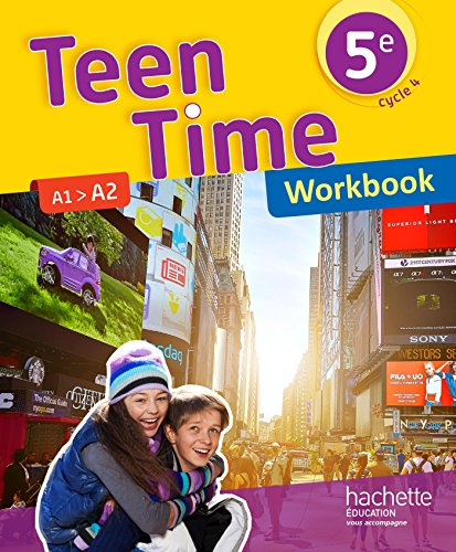 Teen Time anglais cycle 4 / 5e