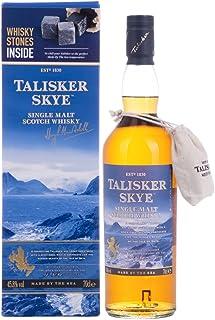 Talisker Skye 45,8% Volume 0,7l in Geschenkbox mit Whisky Steinen Whisky