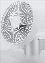 JULABO Durable Ventilateur de Table Grand Ventilateur de Bureau 3 Vitesses réglables USB chargeant 4 pales Mini Ventilateu...