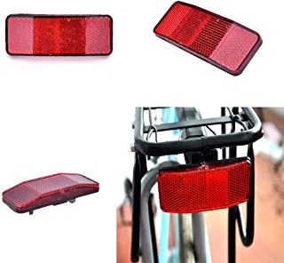 Yongrow Bike Rear Reflector Kit,Bicycle Safety Caution Warning Reflector for Rear Pannier Racks Frame,Set of 1