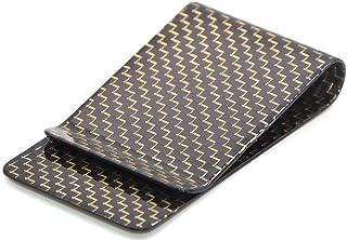 Medifier, fermasoldi in fibra di carbonio, per biglietti da visita e banconote - lucido Oro dorato L
