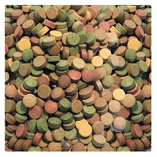 AQUALITY PREMIUM Futter-Tabletten MIX '20 Sorten' 1.000 ml (Eine täglich ausgewogene Mischung von 20 verschiedenen Futtertablettensorten für Ihre Aquarium-Fische. Leckeres Fischfutter in Premium-Qualität) - 4