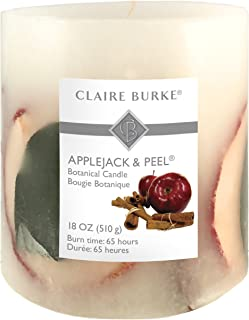 Claire Burke Applejack & Peel Botanical Candle, 18 oz, Red