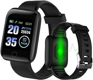 Bluetooth Smart Watch Men Women Blood Pressure Monitor Waterproof Fitness Tracker Bracelet Heart Rate Smartwatch For Andro...