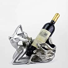 XHHZI Beautifully Decorated Home Decoration European Creative Woman Wine Rack Decoration Wine Cabinet Decoration Living Ro...