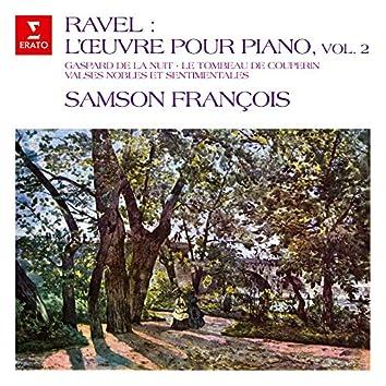 Ravel: L'œuvre pour piano, vol. 2. Gaspard de la nuit, Le tombeau de Couperin, Valses nobles et sentimentales
