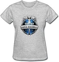 CNTJC Women's SMITE Super Regionals 2015 Logo T Shirt XXL