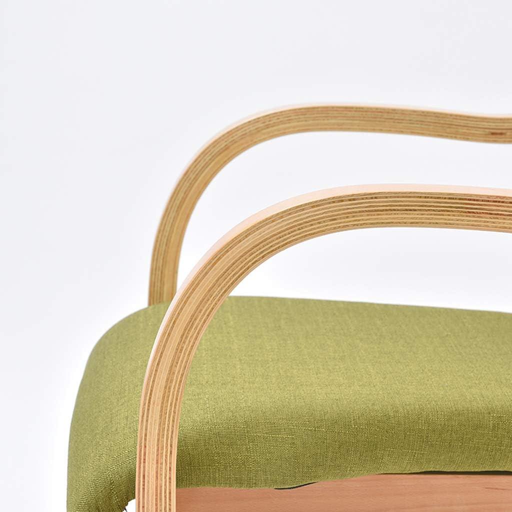 Chaise En Bois Chaise à Manger Intérieur En Bois Massif Carcasse En Bois Dur Extérieur Chaise Lounge Portable,G F