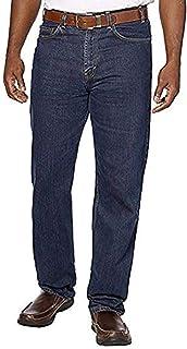 Kirkland Signature Men's Relaxed fit 5 Pocket Jeans(50x32) Blue