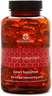 Sponsored Ad - Immuno-Viva Core Capsules 120 Softgels | Natural Immune System Support | Antioxidant Activity Supplement fo...
