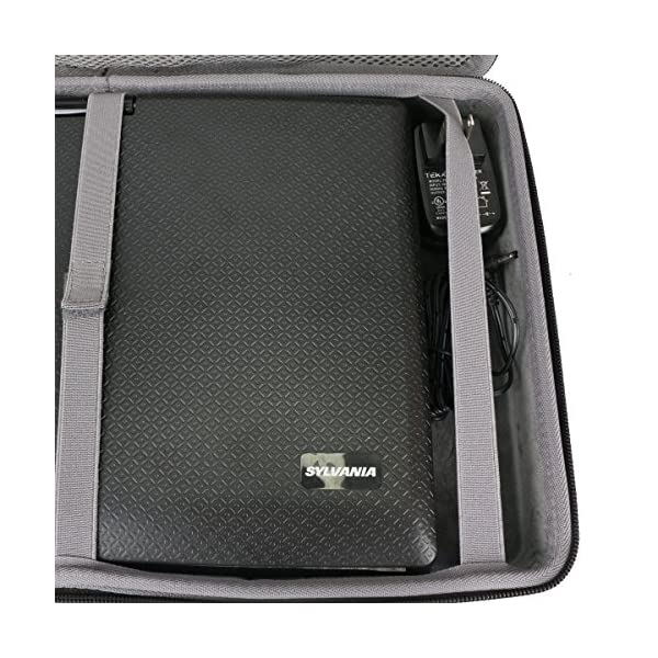 Hard Travel Case for Sylvania 13.3-Inch Swivel Screen Portable DVD Player by co2CREA 4