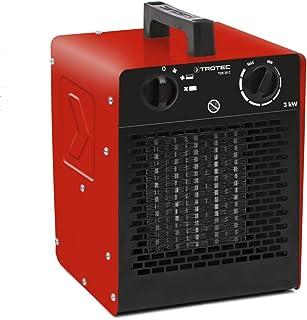 TROTEC Calefactor cerámico TDS 20 C de 3 kW con Dos ajustes de Calor más una Etapa separada de Aire frío