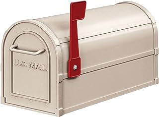 Salsbury Industries 4850BGE Heavy Duty Rural Mailbox, Beige