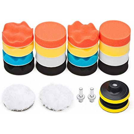 Buffing Sponge Polishing Pads Car Home Polisher Compound Polish Hand Tool Kits