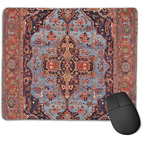 PQU Awesome Alfombrilla De Teclado,Persa Tradicional Isfahan Estilo De Alfombra Vintage Atractivo...