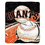 NORTHWEST MLB San Francisco Giants Sherpa Throw Blanket, 50' x 60', Big Stick