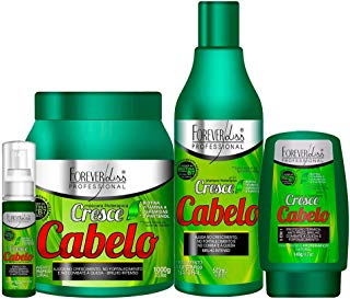 Forever Liss Kit Cresce Cabelo Profissional Completo
