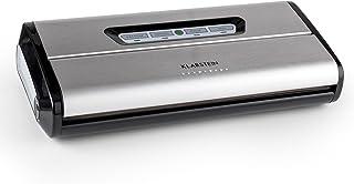 KLARSTEIN FoodLocker Machine à Vide - Machine à Vide, Thermo soudeuse, 16 l/MN, 3 mm Soudure, Commandes tactiles, Aspire, ...
