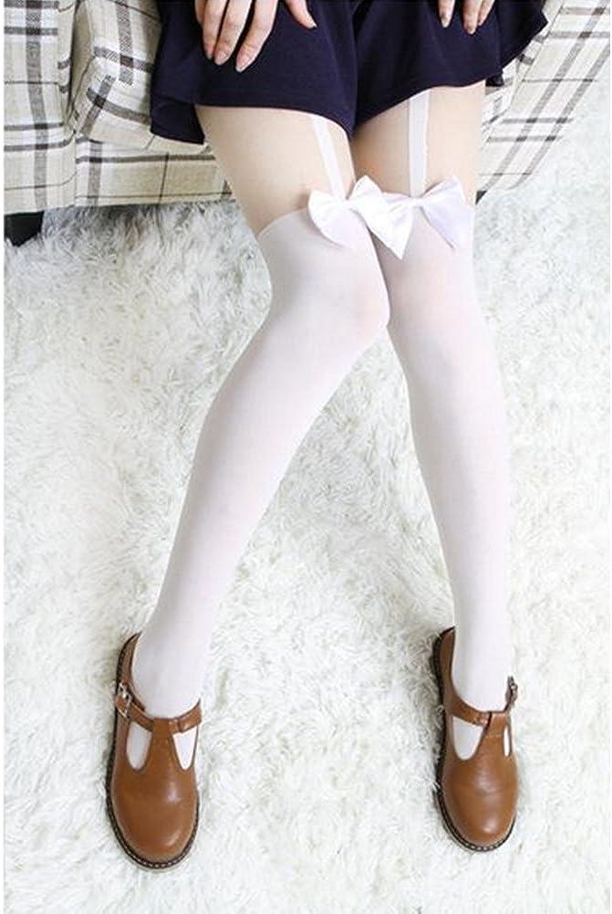 Da.Wa Women Charm Hight Tights Overknee Lace Silk Stocking Mesh Stockings