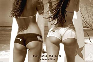 Pyramid America Beach Bums Sexy Surfers Butts Photo Cool Wall Decor Art Print Poster 36x24
