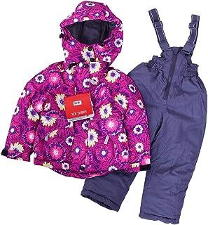 Kids Children Girls Ski//Snow Suit Jacket//Pants Pink //Purple Size1-10 Waterproof