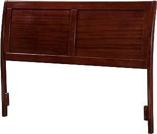Atlantic Furniture AR289834 Portland Headboard, Full, Walnut
