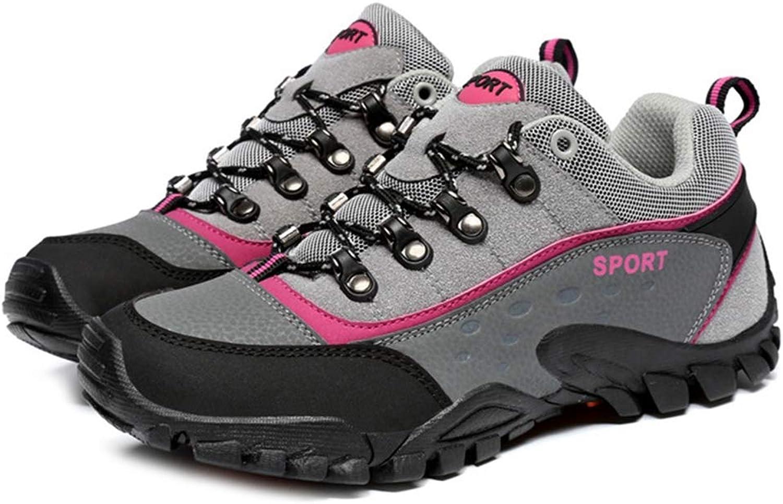 GIY Women's Waterproof Hiking shoes Outdoor Running Trail Hiker Non-Slip Casual Climbing Backpacking shoes