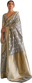 Indian festive Edit Pure Modal weaving Butti Zari Body saree colors Blouse rich Pallu sari 5520