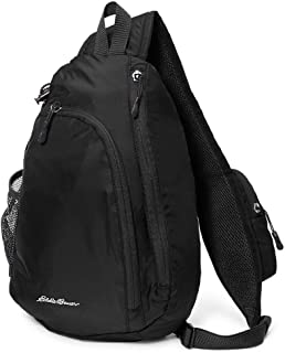 Unisex-Adult Ripstop Sling Pack, Black Regular ONESZE