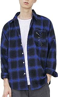 J-MOOSE シャツ メンズ 長袖 チェックシャツ カジュアル チェック柄 ネルシャツ おしゃれ