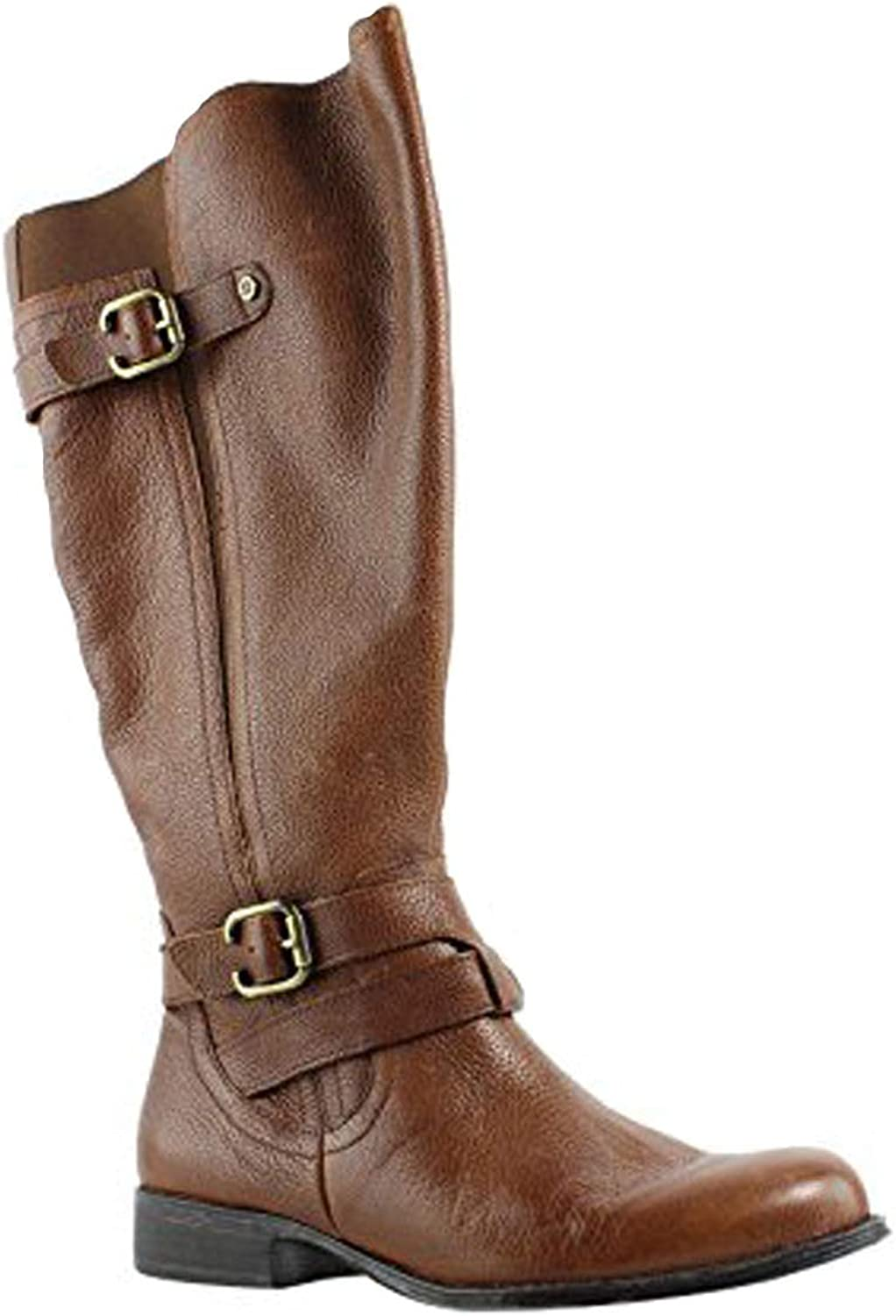 Naturalizer Women's Jordie Knee Boots, Brown Leather, 5.5 M