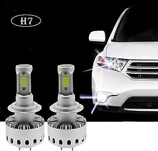 Ralbay H7 Headlight Bulb 160W 12000LM COB LED Headlight Bulb Conversion Kit, Cool White 6500K