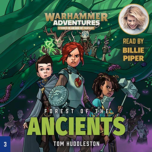 Warhammer Adventures: Forest of the Ancients audiobook cover art