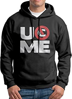 Men's John Cena You Cant See Me UOME Logo Sweatshirts Hoodie