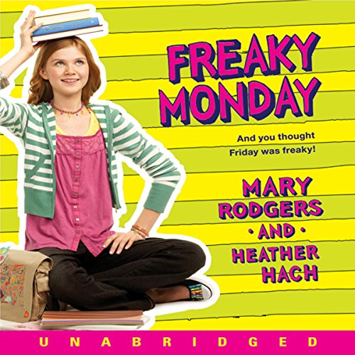 Freaky Monday audiobook cover art