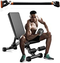 Home GYM Fitness Workout Adjustable Dumbbell Weight Bench with Sit Up Door Pull Up Bar Body Exercice Training Sport