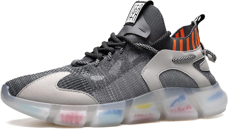 JUBAIYUAN Men's Oakland Mall Ultralight Walking mesh Shoes Time sale Running Breathable