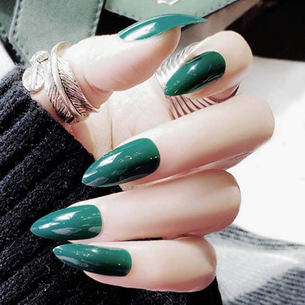 Milanco False Dedication Nails Full 2021new shipping free Cover Sha Glossy Shape Fake