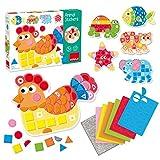 Goula- Animal Stickers Foam (53149)