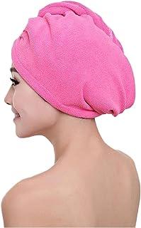 b5479c452c Franterd Microfiber Bath Towel Hair Dry Hat Cap Quick Drying Bath Tool