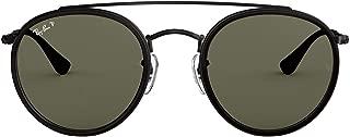RB3647N Round Double Bridge Sunglasses