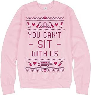 Can't Sit with Us Ugly Sweater: Unisex Gildan Crewneck Sweatshirt
